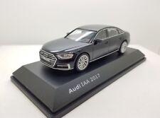 AUDI A8L D5 3.0 TDI TFSI QUATTRO Mito Negro IAA 2017 1:43 Escala Modelo Distribuidor ()