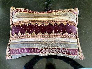 "Croscill Townhouse Dover Manor Dunhill Decorative Rectangular Pillow 14""x20"""