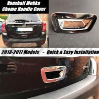 Vauxhall/Opel Mokka 2013-2017 Rear Chrome Door Handle Cover - Chrome Styling