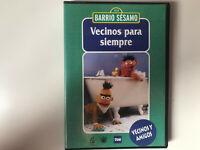BARRIO SESAMO DVD VECINOS PARA SIEMPRE VECINOS Y AMIGOS