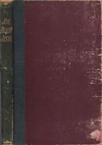 Joe Miller's Jests or Wits Vade-Mecum / 1789 Literature Facsimile