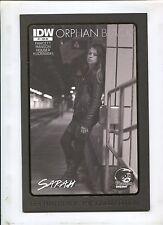 ORPHAN BLACK #1 (9.2) PHANTOM VARIANT COVER/GOLD EDITION!