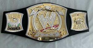 "WWE World Championship Spinner Mattel Belt 32""Waist RETIRED CENA CM PUNK"