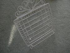 Libro de metal ornamentales Soporte Rest ~ página conservando Estante y cadenas ~ Acero