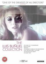 THE LUIS BUNUEL COLLECTION - BOX 7 DVD in Francese/Spagnolo NEW .cp