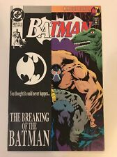 Batman #497 (Breaking of the Bat by Bane)