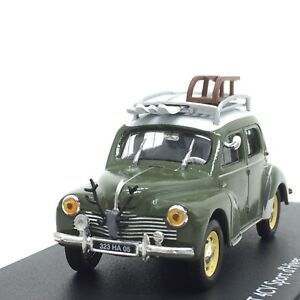 Renault 4CV Sport Dhiver  Diecast Car Model Toy