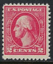 SCOTT 527 1920 2 CENT WASHINGTON REGULAR ISSUE TYPE V MNH OG F-VF CAT $26!