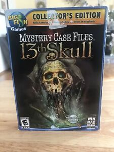 Mystery Case Files: 13th Skull -- Collector's Edition (Windows/Mac, 2011)