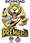 2017 Premiership Premiers Richmond Tigers CARICATURE STICKER Grand Final