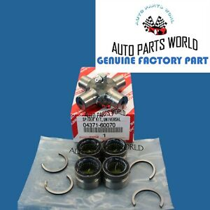 GENUINE OEM TOYOTA LEXUS 4RUNNER FJ GX460 UNIVERSAL JOINT SPIDER KIT 04371-60070