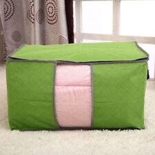 Solutions de rangement verts sans marque en tissu pour la maison