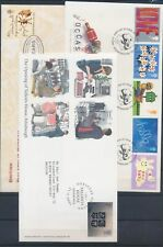 XC25519 Great Britain 2001 mixed thematics FDC's used