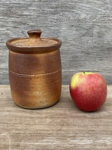 2) John Leach Muchelney Stoneware Studio Pottery Kitchen Storage Jar