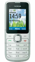 CHEAP NOKIA C1-01 SIMPLE MOBILE PHONE - UNLOCKED WITH NEW CHARGAR AND WARRANTY