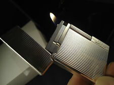 S.T. Dupont Gatsby Lighter - Silver Plated - Lines - Cased - Briquet - Feuerzeug