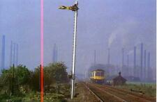 Cross Country Derby Lightweight Class 108 Bletchley Bedford 1990s postcard
