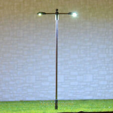 20 pcs HO/OO gauge Lamp LEDs made Model Lamppost height adjustable Light #SD100D