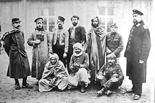 1915-World War 1 Photo-Prisoners Incl. Muslims at Zossen Camp-Wünsdorf-Germany