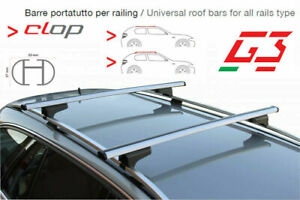 Barre Portatutto Land Rover Freelander Con Rails Alti Open Basic G3
