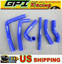 Honda CR250 CR250R CR 250 R 2-stroke 2000 2001 00 01 silicone radiator hose blue