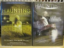 Lot of 2 NEW 'Haunting' DVDs: A Haunting in Georgia & A Haunting in Connecticut