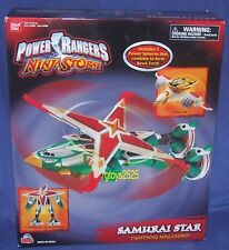 Power Rangers Ninja Storm SAMURAI STAR LIGHTNING MEGAZORD New Factory Sealed