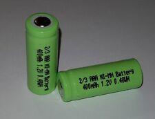 Einzel-Zelle Akku NiMH 2/3AAA 1,2V 400mAh Zelle 2/3 AAA Höhe 29,3mm