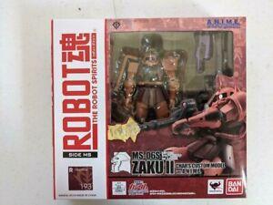 Bandai Robot Spirits Side MS MS-06S ZAKU II CHAR'S CUSTOM Ver A.N.I.M.E.