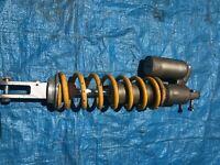 2005 05 Honda Crf450x Crf 450x 450 x Rear Shock Suspension Spring Absorber