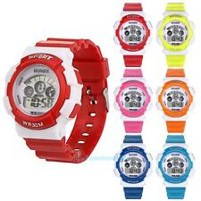 Kid Child Boy Girl Multifunction Waterproof Sport Electronic Digital Wrist Watch