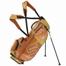 NUOVO Sun Mountain TOUR Donna SUPERLIGHT three5 Carry Stand Golf Bag Papavero