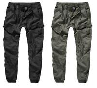 Brandit Herren Cargohose Trousers Freizeit Hose Pants Bündchen Army Style Slim