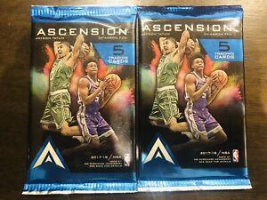 Lot x 2 2017/18 Panini Ascension Basketball Hobby Factory Sealed Packs