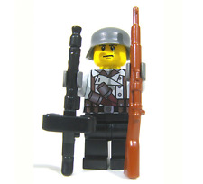 Brickarms MG34 Light Machine Gun w/Saddle Drum for Lego Minifigures (3 Pack)