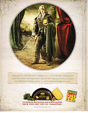 PUBLICITE ADVERTISING 094  2009  OLD DUTCH MASTER  fromage Hollande