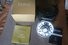 Hardy Swift 925 made en Inglaterra ungefischt con todos los papeles fly Reel Hardy 6-7