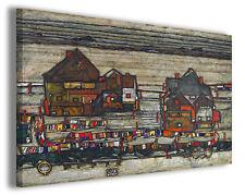 Quadro moderno Egon Schiele vol XIV stampa su tela canvas pittori famosi