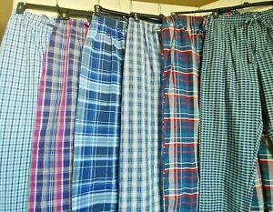 Men's Ralph Lauren Polo Pajama Panrts Plaid print  Sz S -XL NWT