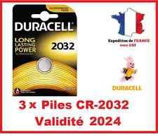 3 Pila CR-2032 DURACELL botón Litio 3V DLC 2025