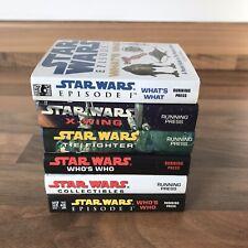 Lot of 6 Star Wars Miniature Pocket Manuals - Books + Pop Up Books 1998