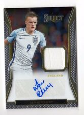 JAMIE VARDY 2016-17 SELECT JERSEY AUTOGRAPHS (ENGLAND, LEICESTER) #31 / 99