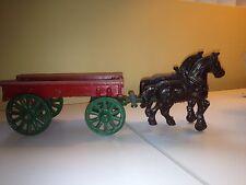Stanley cast alminum hay wagon