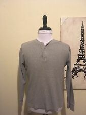 L.L. Bean Men's Small Gray Long Sleeve Shirt