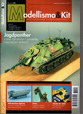 MODELLISMO & KIT N°1/2007 MTM BARCHINO ESPLOSIVO YAMAHA M1 2006 JAGDPANTHER