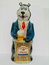 Rare vintage 1973 Hamm'S Beer Bear ceramarte decanter Advertising Memorabilia