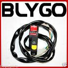 4 Pin Male Plug Kill Switch Start Button 110cc 125cc PIT PRO Quad Dirt Bike ATV