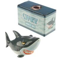 Novelty Ceramic Shark Money Box - Piggy Bank Savings Box - Sea life