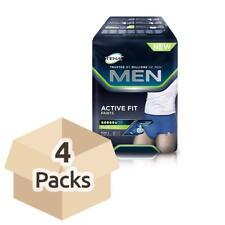 TENA MEN ACTIVE FIT Pantaloni-Large- 4 confezioni da 8 (95-130) (TG 50-56)
