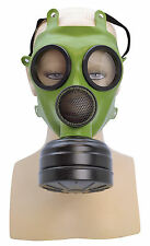 ADULT WORLD WAR 2 ARMY CHEMICAL WARFARE REALISTIC GAS MASK FANCY DRESS ACCESSORY